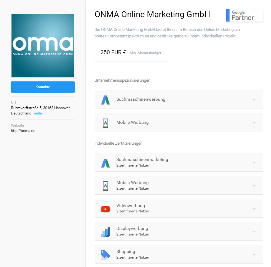 onma-google-partner-profil