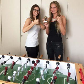 Kicker-Siegerinnen