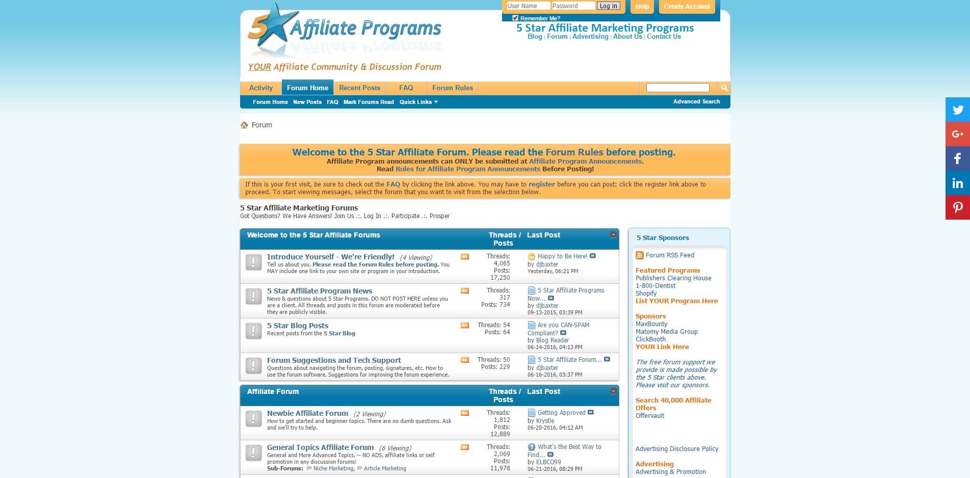 seo-blog-affiliate-marketing-forums-5staraffiliateprograms-com