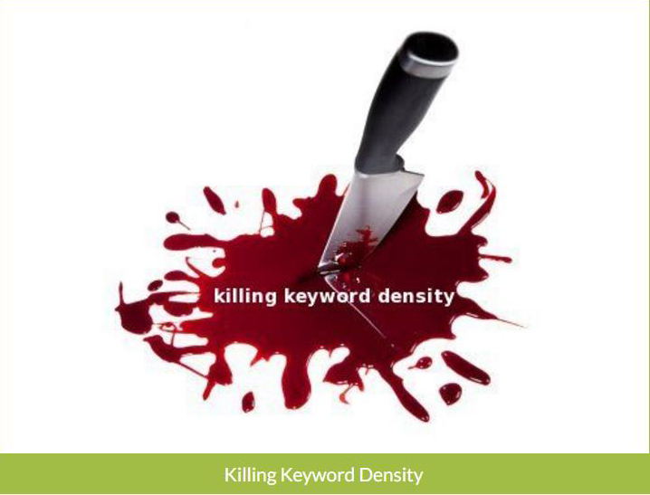 killing-keyword-density