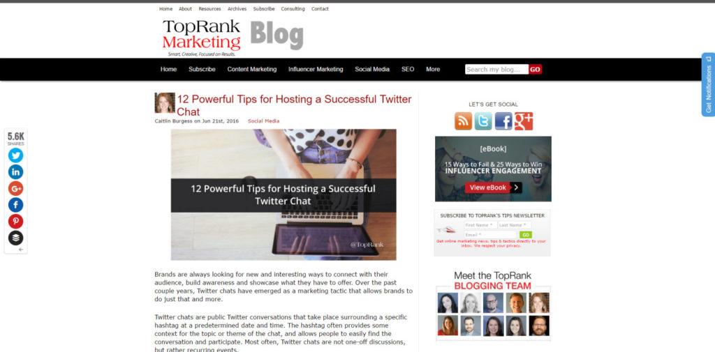 SEO Blog 022 Top Rank Blog