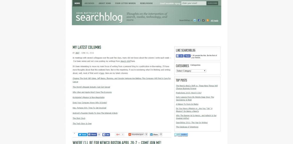 SEO Blog 027 Batteles Search Blog
