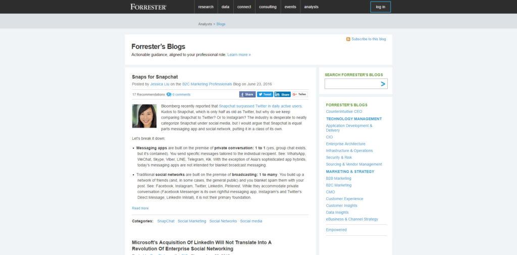 SEO Blog 028 Blog Forrester