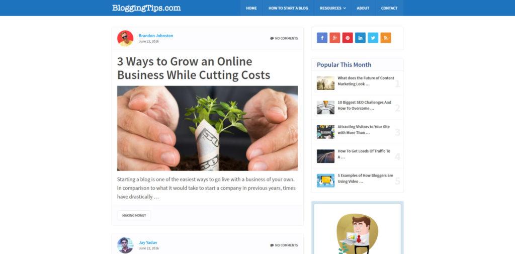 SEO Blog 039 Blogging Tips