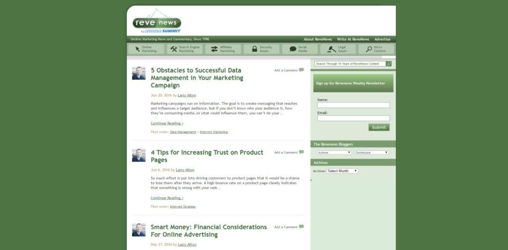 SEO Blog 041 Reve News