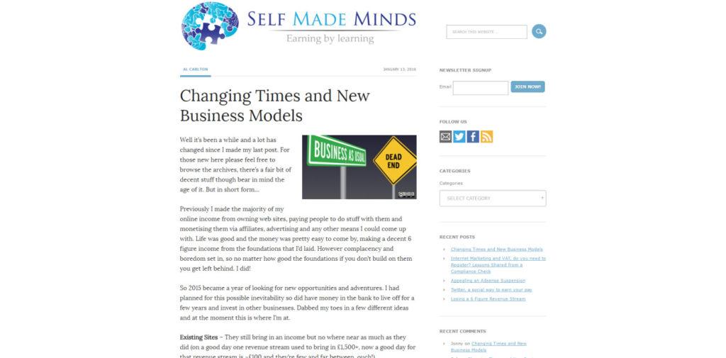 SEO Blog 042 Self Made Minds