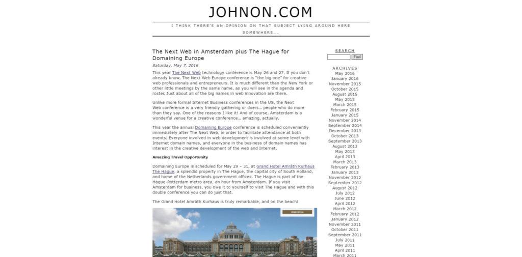 SEO Blog 051 Johnon