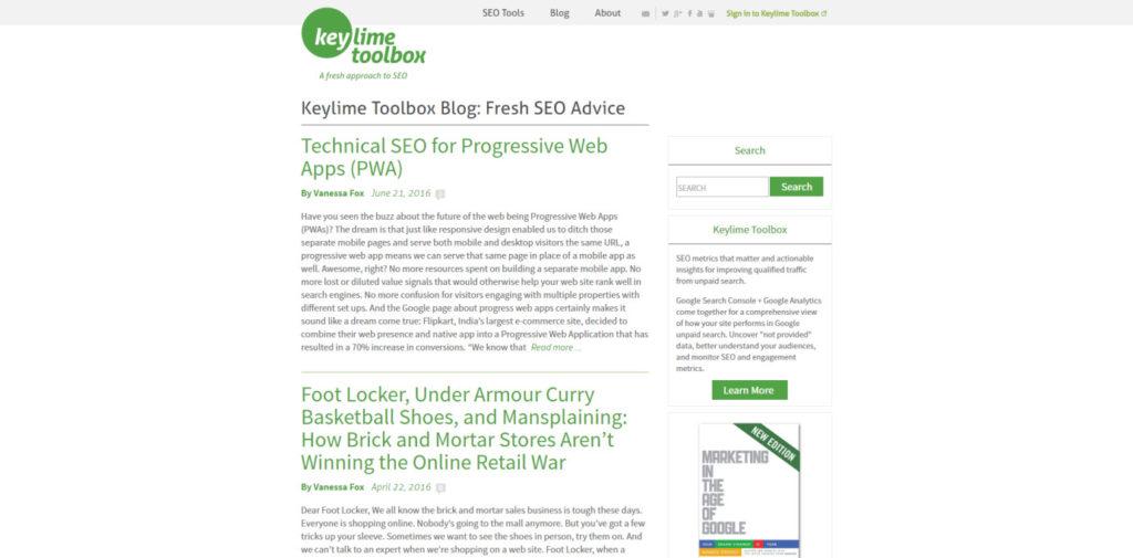 SEO Blog 053 Keytime Toolbox