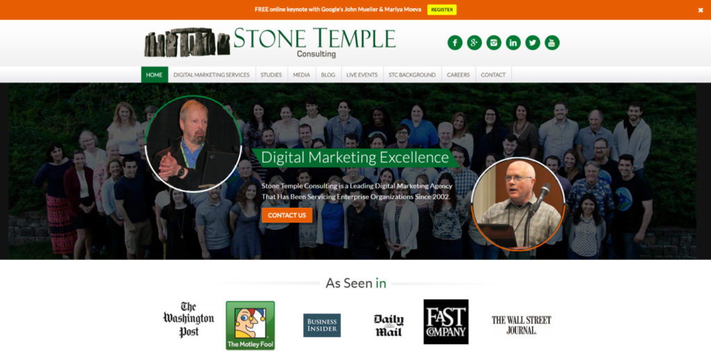 SEO Blog 054 Stone Temple