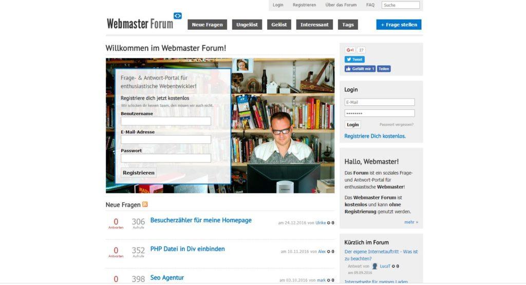 WebmasterForum