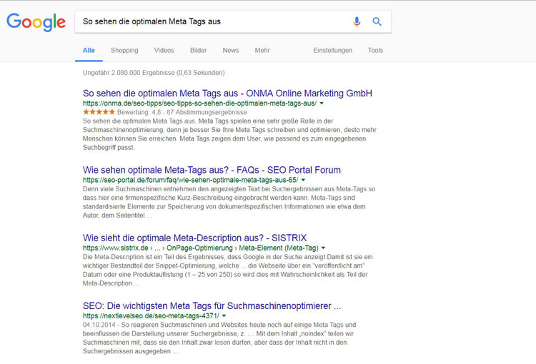 google-optimale-meta-tags