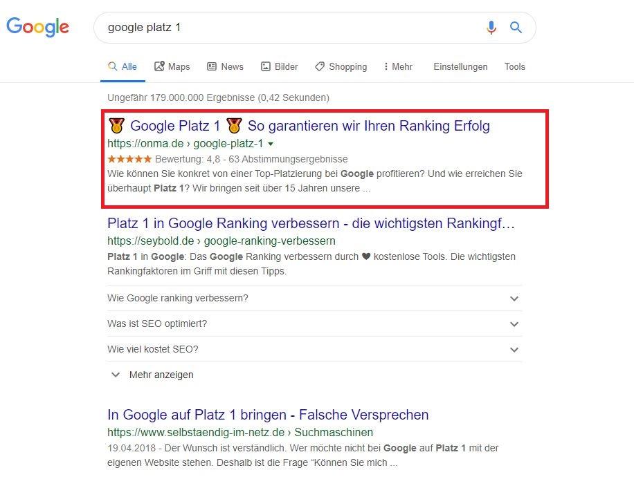 google-platz-1