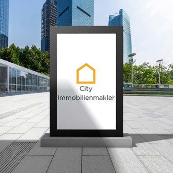 Billboard city immobilienmakler hannover