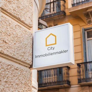 Plakat city immobilienmakler hannover